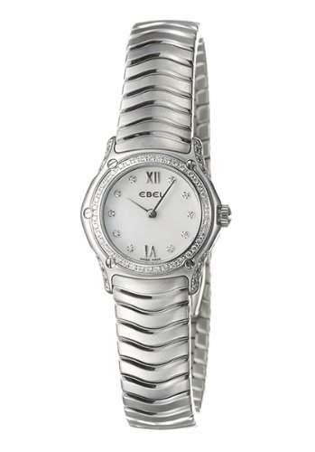 Ebel Damen-Armbanduhr CLASSIC WAVE Analog Quarz 9157F19-971025