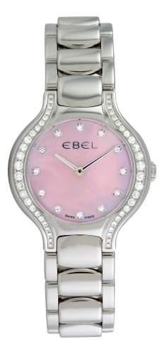 Ebel Damen 9256N28971050 Beluga Mother-Of-Pearl Pink Diamond Zifferblatt