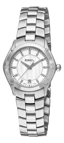 Ebel Damen 1216015 Sport Analog Display Swiss Quartz Silber Armbanduhr by Ebel