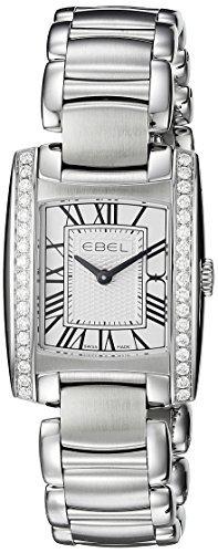 Ebel Damen 1216068 Analog Display Swiss Quartz Silber Armbanduhr by Ebel