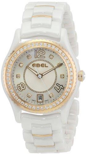 Ebel Damen 1216116 1 Analog Display Swiss Quarz weiss Armbanduhr by Ebel