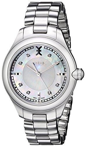 Ebel Damen 1216136 Onde Analog Display Swiss Quartz Silber Uhr