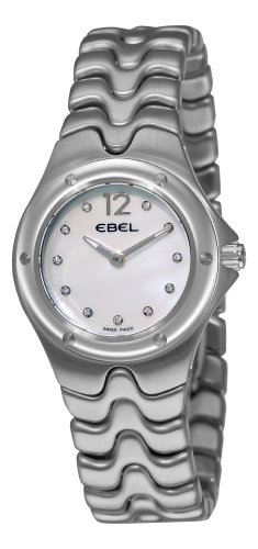 Ebel Damen 9956K21 9811 Sportwave Mother Of Pearl Diamond Dial Uhr