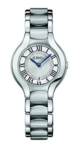 EBEL Damen-Armbanduhr EBEL BELUGA LADY Analog Quarz Edelstahl 1216037