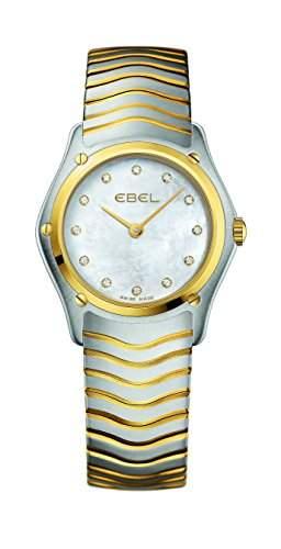 EBEL Damen-Armbanduhr EBEL CLASSIC LADY Analog Quarz Gelbgold 1215371