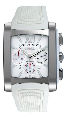 Ebel Damen 9126M52 164WC35 Brasilia Silber Chronograph Zifferblatt