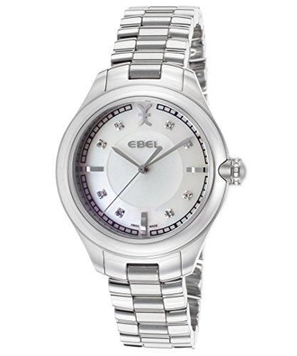 Ebel 36mm Armband Edelstahl Gehaeuse Schweizer Quarz 1216136
