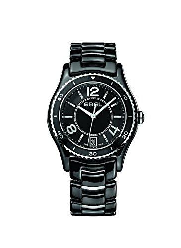 EBEL Damen Armbanduhr EBEL X 1 LADY Analog Quarz Keramik 1216142