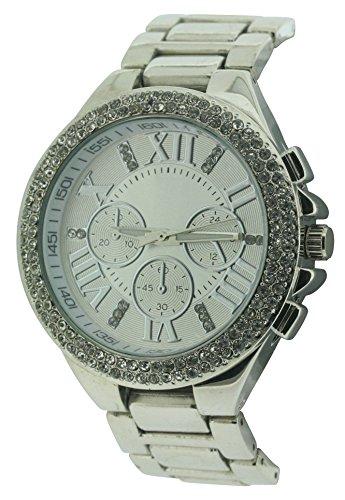 BDV WomenDamen Armbanduhr Analog silber BDV31 C
