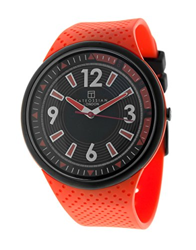 Tateossian MenHerren Armbanduhr invicta Analog Automatik Kautschuk WA0060 und Orange