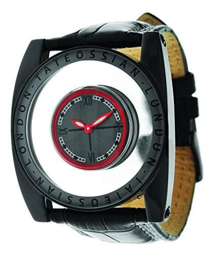 Tateossian MenHerren Armbanduhr invicta Analog Automatik Leder braun WA0027