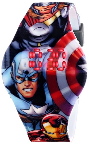 Marvel Comics Kids AVG1517 The Avengers Digital Display Watch
