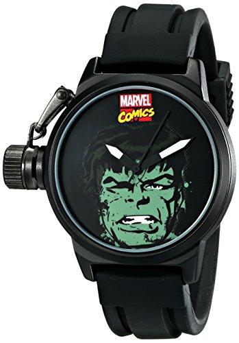 Marvel Herren w001752 Hulk analog quartz Black Watch