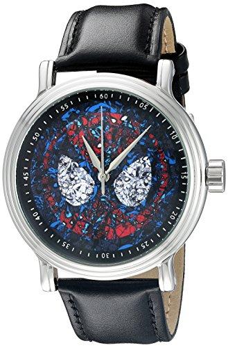 Marvel Spiderman Herren w002541 Spider Man Analog Display Analog Quartz Black Watch