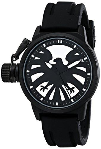 Marvel Herren w001757 The Avengers Captain America analog quartz Black Watch