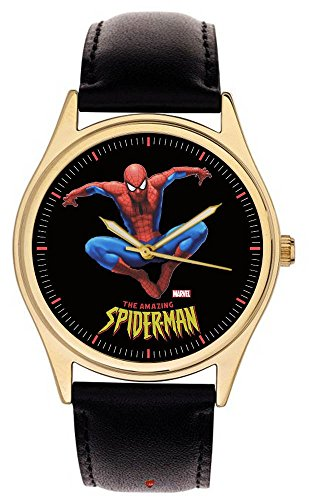 Seltene Vintage Spiderman Classy Wool Comic Art Armbanduhr 40 mm