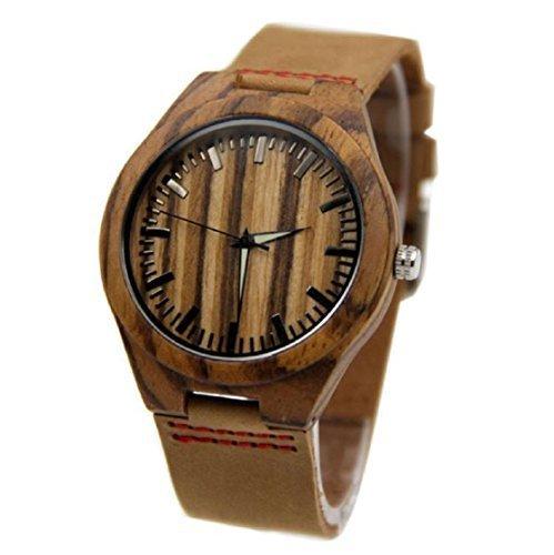 Sannysis New Bamboo Armbanduhren
