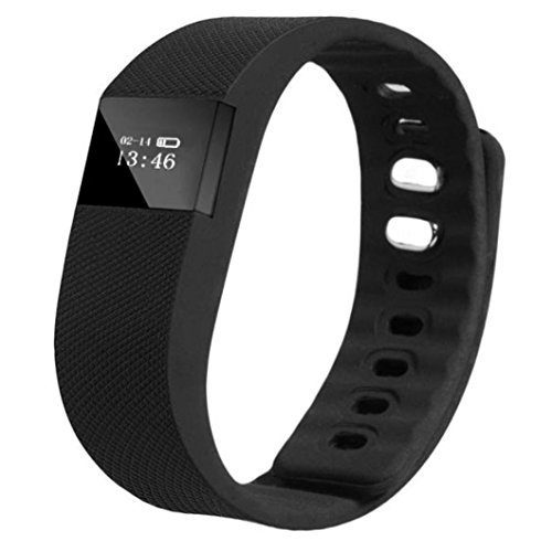Sannysis Smart Armband Schlaf Sports Fitness Activity Tracker Pedometer Armband Uhr