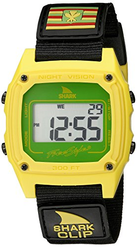 Freestyle Unisex 10022120 Shark Clip Hawaii Digital Display Japanisches Quartz Black Watch