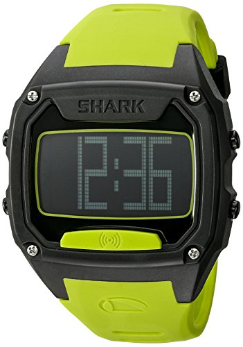 Freestyle Unisex 10025777 Shark Zahn Digital Display Japanisches Quarz Gelb Armbanduhr