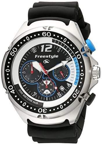 Freestyle Herren-Armbanduhr XL Hammerhead Dive Chronograph Edelstahl FS81324