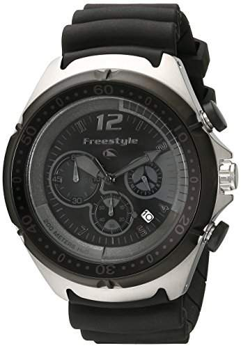 Freestyle Herren-Armbanduhr XL Hammerhead Dive Chronograph Edelstahl FS84939