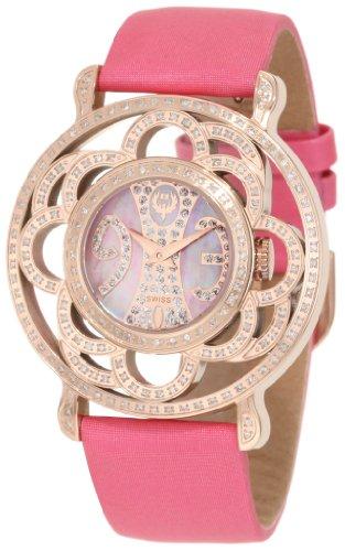 Brillier Damen 04 31323 02 Papillon Schweizer Quartz Mother Of Pearl Uhr