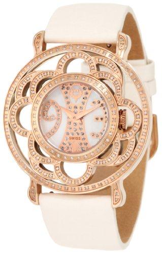 Brillier Damen 04 31424 06 Papillon Schweizer Quartz Mother Of Pearl Uhr