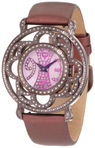 Brillier Damen 04 71727 10 Papillon Schweizer Quartz Mother Of Pearl Uhr