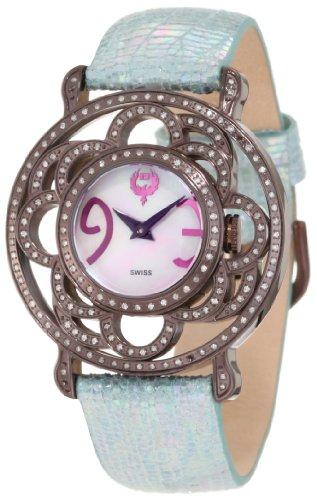 Brillier Damen 04 71727 11 Papillon Schweizer Quartz Mother Of Pearl Uhr