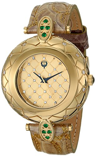 Brillier Damen 30 01 Analog Display Swiss Quarz Braun Armbanduhr