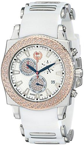Brillier Herren Chronograph 01 4 3 4 13 2 Method Air Two Tone Weiss Rubber Uhr