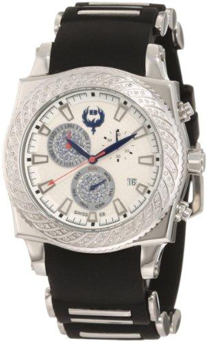 Brillier 01 4 4 4 11 1 Method Air White Dial Black Rubber Uhr