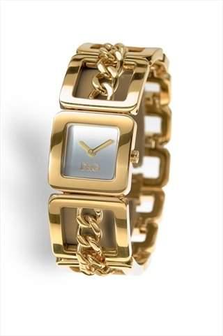 D&G Dolce&Gabbana Damen-Armbanduhr CONFIDENTIAL IPG SLV DIAL BRC DW0236