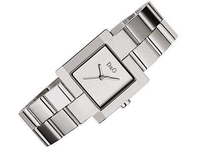 D&G Dolce&Gabbana Damen-Armbanduhr PROMENADE SS SILVER DIAL BRC DW0397