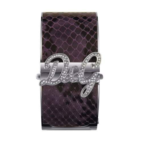 D&G Dolce&Gabbana Damen-Armbanduhr EdelstahlLeder small