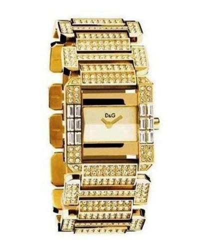 D&G Dolce&Gabbana Damen-Armbanduhr ROYAL IPG GOLD DIAL BRC DW0220