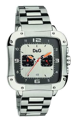 D&G Dolce&Gabbana Herren-Armbanduhr LICENSED SLVANTHRACITE DIAL BRC DW0246