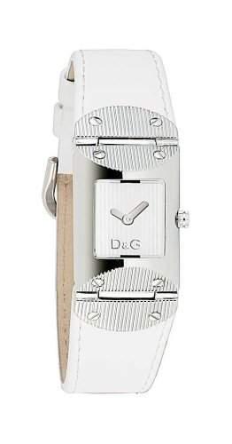 D&G Dolce&Gabbana Damen-Armbanduhr TWEED SLV DIAL WTE STRAP DW0326