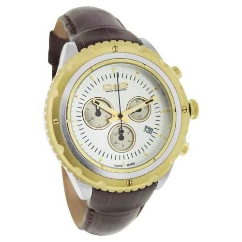 D&G Dolce & Gabbana Herren-Armbanduhr Chronograph