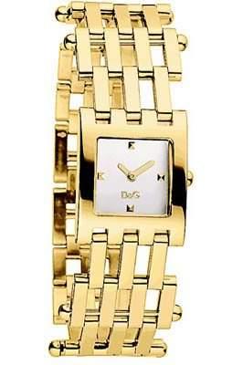 D&G Dolce&Gabbana Damen-Armbanduhr BELLEVUE IPG SILVER DIAL BRC DW0406