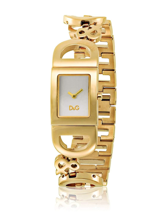 D&G Dolce&Gabbana Damen-Armbanduhr IRELAND 2H DO BRC IPG SILVER DIAL DW0495