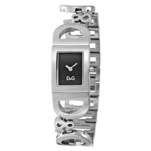 D&G Dolce&Gabbana-Damen-Armbanduhr IRELAND 2H BRC BLACK DIAL DW0499