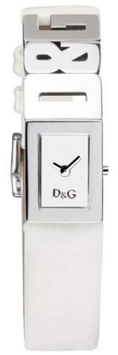 D&G Dolce&Gabbana Damenuhr Shout DW0508 weisses Armband