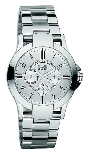 D&G Dolce&Gabbana Herren-Armbanduhr Chronograph Quarz Edelstahl DW0538