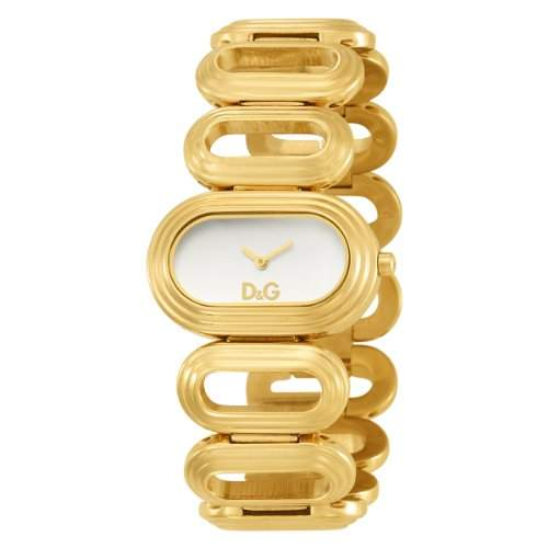 D&G Dolce&Gabbana Damen-Armbanduhr Analog Quarz Edelstahl DW0618