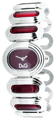 D&G Dolce&Gabbana Damen-Armbanduhr Analog Quarz Edelstahl DW0619
