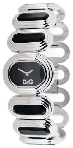 D&G Dolce&Gabbana Damen-Armbanduhr Analog Quarz Edelstahl DW0620