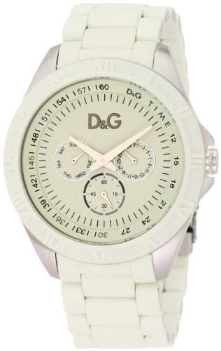 D&G Dolce&Gabanna Chamonix Herren-Armbanduhr Creme DW0768