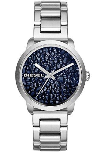 Diesel Analog Quarz One Size blau silber DZ5522